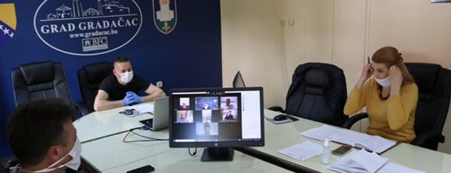 U srijedu 2. vanredna sjednica Gradskog vijeća putem video konferencije