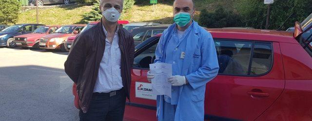 Dom zdravlja Gradačac dobio zaštitnu opremu i dezinfekciona sredstva