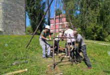 """Geomehanička ispitivanja terena za rekonstrukciju """"Kompleksa starog grada"""" u Gradačcu"""