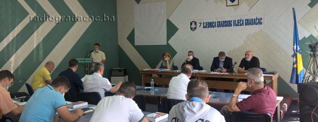 Održana 7. sjednica Gradskog vijeća Gradačac