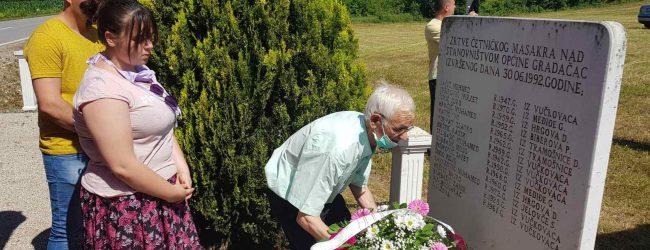 Sjećanje na žrtve masakra 30. juna 1992. godine