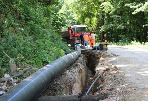 Počeli radovi na spajanju južnog vodovodnog sistema i gradskog vodovoda