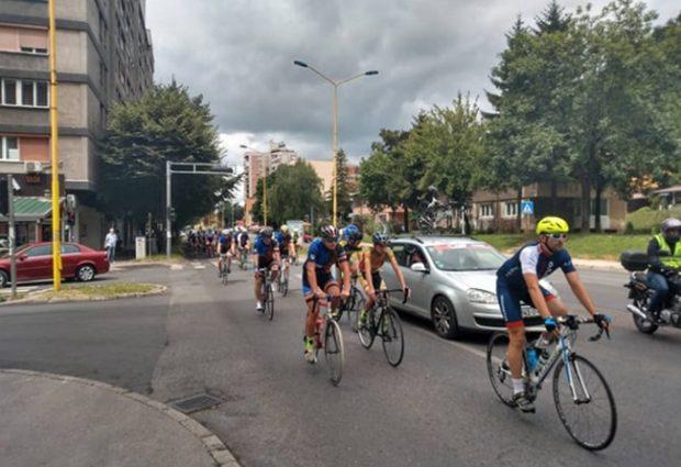 Hamza Fazlić, biciklista iz Vučkovaca nastupio na prvoj ovosezonskoj utrci u Tuzli