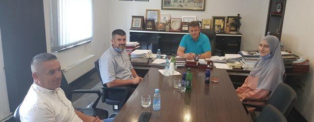 Prijem kod gradonačelnika Gradačca za hafizu Halimu Baturić
