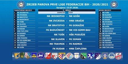 Zvijezda i Orašje u Gradačcu otvaraju novu sezonu Prve lige FBiH