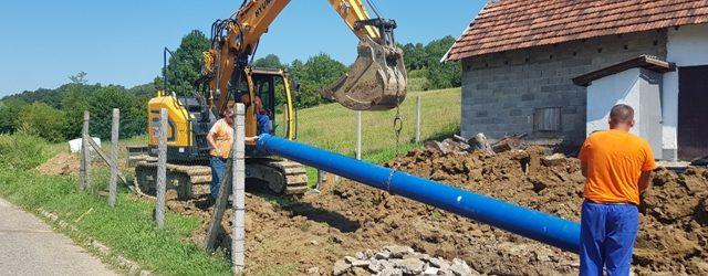 Nastavljeni radovi na izgradnji vodovoda za južni dio grada Gradačac