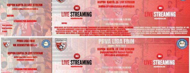 Live stream prenos utakmice Jedinstvo-Zvijezda