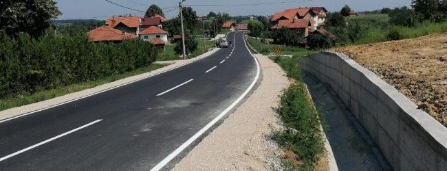 Završena rekonstrukcija dijela regionalnog puta u Srnicama Gornjim