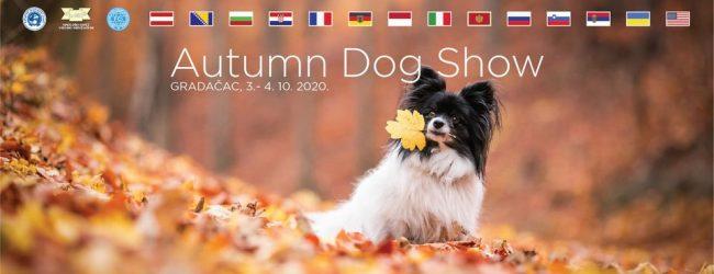 Za vikend Autumn Dog Show Gradačac 2020
