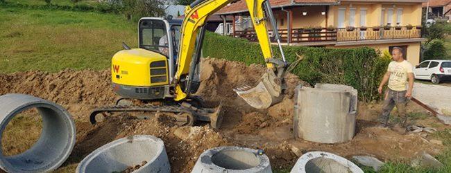Počela izgradnja kanalizacione mreže u naselju Mejremići u MZ Svirac
