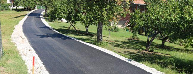 Nastavljeno asfaltiranje putnih pravaca na području Gradačca