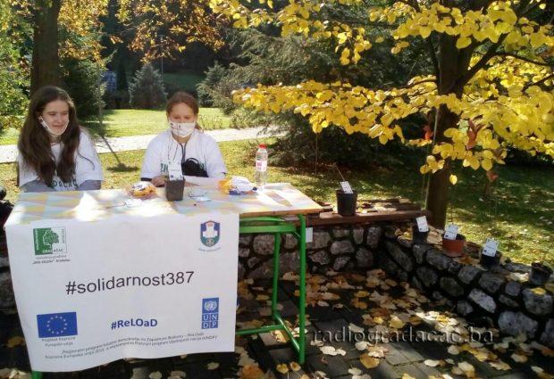 Audio/Foto: Eko-zeleni realizuju projekat #solidarnost387