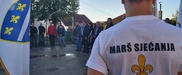 """Danas """"Marš zahvalnosti"""" Jelovče Selo – spomenik Ljiljan"""