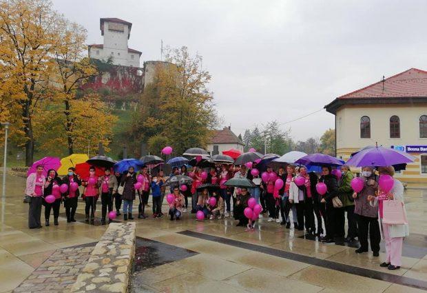 """Zmajice nastavile sa aktivnostima obilježavanja """"Roze oktobra"""""""