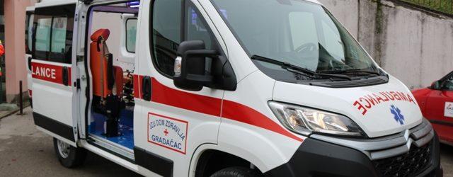 Upriličena primopredaja novog sanitetskog vozila za potrebe Doma zdravlja Gradačac