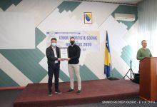 Jasmin Hrnjić proglašen za sportistu godine grada Gradačca za 2020. godinu