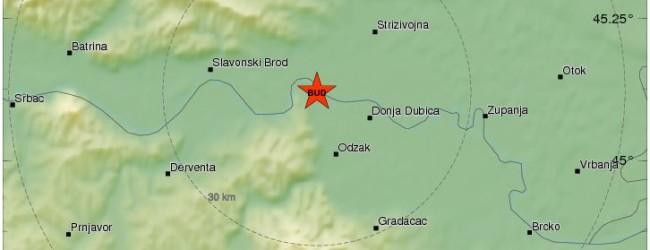 Zemljotres se osjetio i u Gradačcu