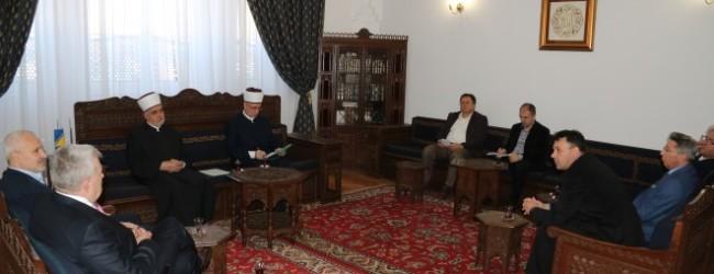 Razgovori o završetku rekonstrukcije džamije Husejnije
