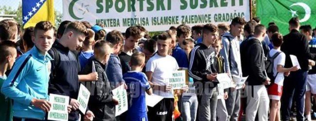 Sibovac bio domaćin sportskih susreta mekteba na nivou Medžlisa IZ Gradačac