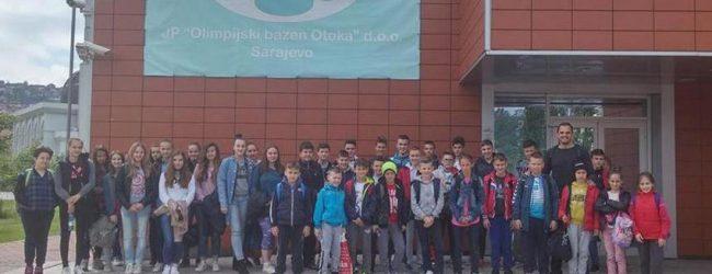Spartanci trenirali na Olimpijskom bazenu Sarajevo