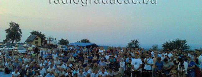 Održan vjerski program u okviru manifestacije svečanog otvaranja spomenika Ljiljan na Banderi