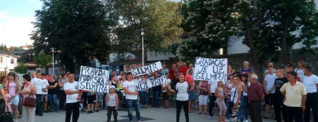 Održan drugi miting podrške Selmiru Mašetoviću
