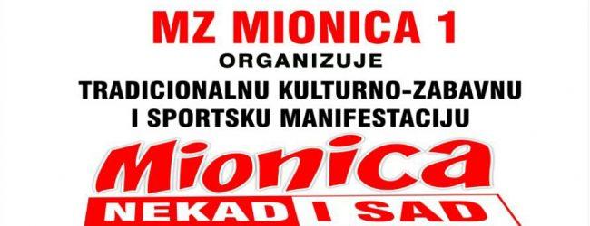 """Za vikend manifestacija """"Mionica nekad i sad"""""""