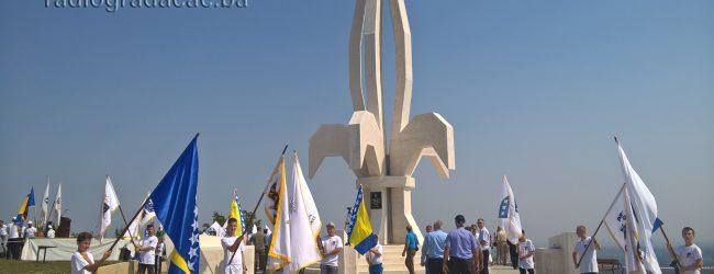 FOTO: Obilježena godišnjica spomenika Ljiljan na Banderi