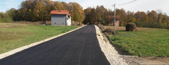 575 m novog asfalta u Biberovom Polju