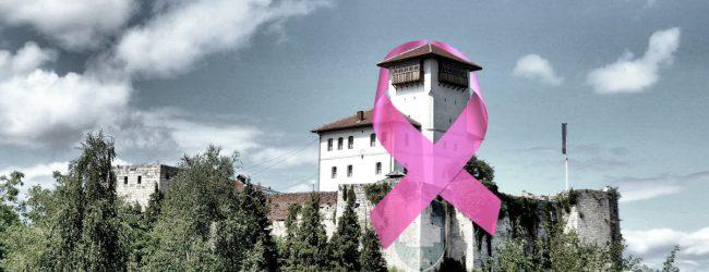 Gradina večeras u roze boji