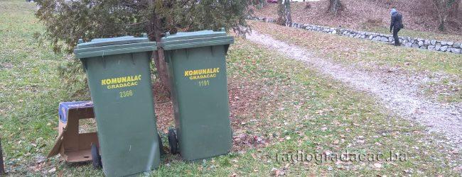 Zbog novogodišnjih praznika izmjenjen raspored odvoza smeća