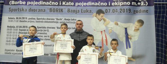 Gradačac bogatiji za četiri državna prvaka u karateu