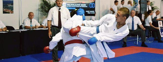 Sadin Mulahalilović brani boje BiH na Mediteranskom karate prvenstvu u Turskoj