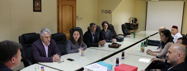 Općinski načelnik upriličio prijem za goste iz škole u Turskoj koji borave u Gradačcu