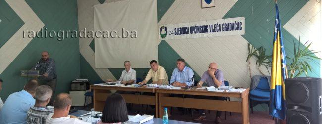 Održana 24. sjednica Općinskog vijeća Gradačac