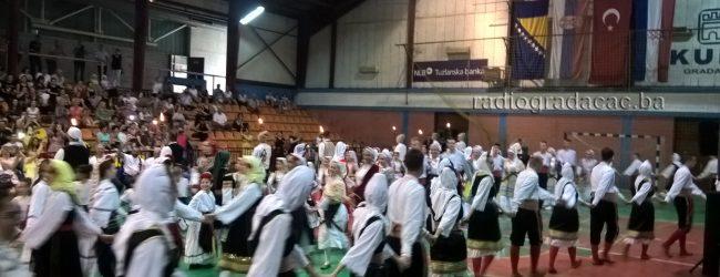 "KUD ""Zmaj od Bosne"" organizovao 7. smotru folklora"