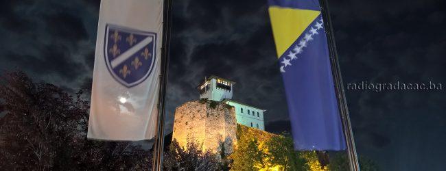 Sutra polaganje cvijeća na spomen obilježja u gradskom parku povodom Dana državnosti BiH