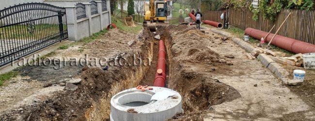 Intenzivirani radovi na proširenju kanalizacione mreže
