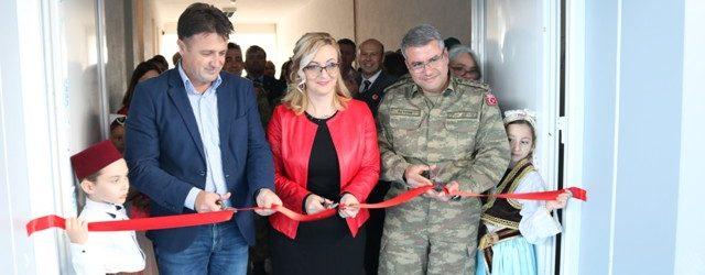 Turska vojna misija u BiH pomogla izgradnju sportske dvorane u Kamberima