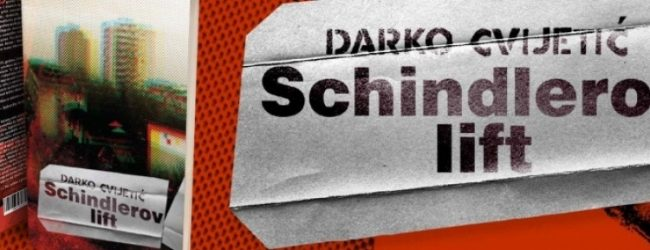 """SA POLICA BIBLIOTEKE: """"Schindlerov lift"""" Darko Cvijetić"""