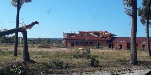 Olujni vjetar dizao krovove i lomio granje