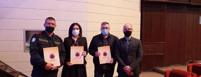 Dodijeljena priznanja i nagrade kantonalne Civilne zaštite za 2021. godinu