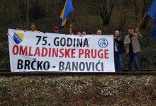 Brigadiri iz Gradačca obilježili 75 godina pruge Brčko-Banovići