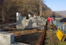 Radovi na izgradnji tribina na stadionu NK Trebava