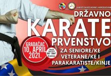 U Gradačcu održano Državno prvenstvo Bosne i Hercegovine u karateu