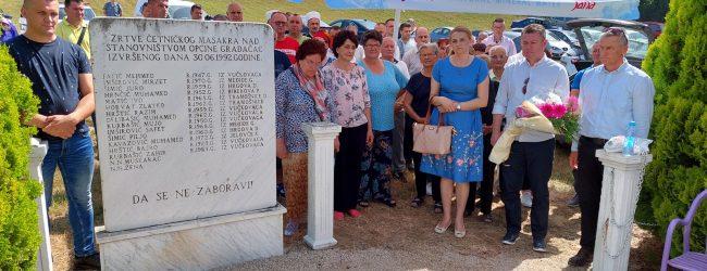 Obilježena 29. godišnjica masakra civila na putu Gradačac-Ormanica