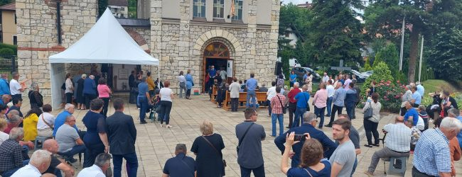 FOTO/VIDEO: Posvećena župna crkva Sv. Marka u Gradačcu
