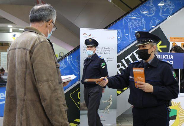 Kampanja informisanja građana o trgovini ljudima