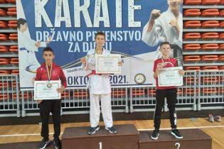 Dva gradačačka kluba nastupila na Državnom karate prvenstvu za djecu
