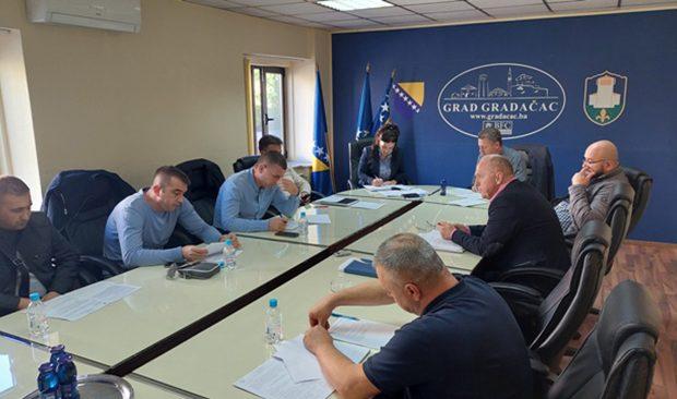 9. redovna sjednica Gradskog vijeća Gradačac najavljena za utorak, 2. novembra